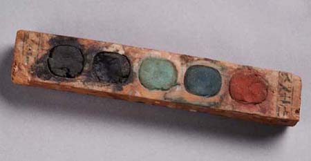 Paint box of vizier Amenemope  100@7
